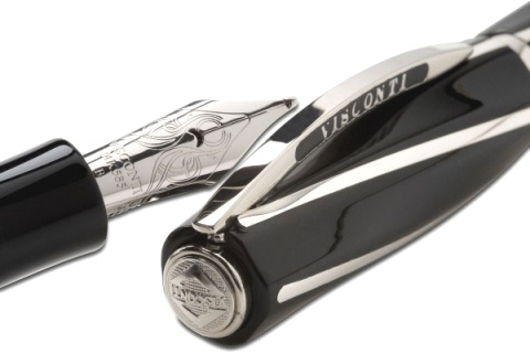 ��������� � �����-������ Visconti Divina Medium Size, Black ST