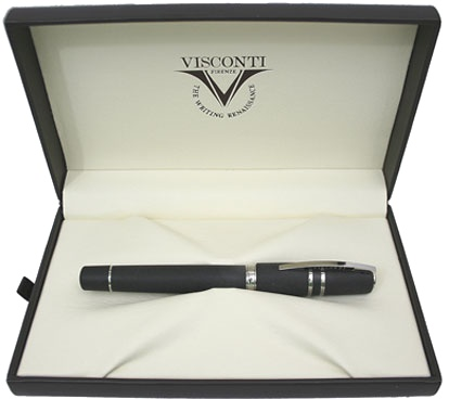 Подробнее о Ручка-роллер Visconti Homo Sapiens Steel Age Medium, Black CT