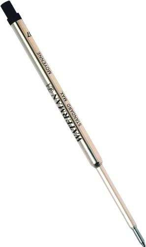 Waterman 1964017 Черный стержень для шариковой ручки Refill BP Standard Maxima (F)