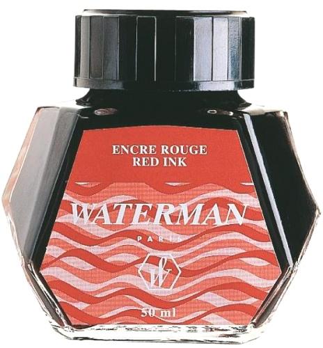 Waterman S0110730 Флакон с красными чернилами для перьевой ручки