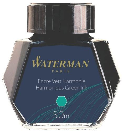 Waterman S0110770 Флакон с зелеными чернилами для перьевой ручки
