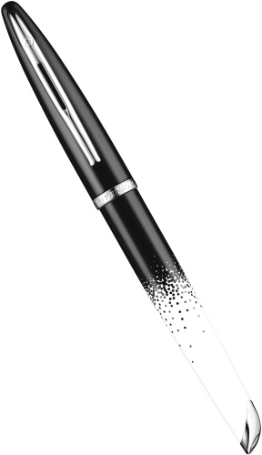 Подробнее о Перьевая ручка Waterman Carene 2015 Ombres et Lumieres Special Edition, Black and White ST (перо F)