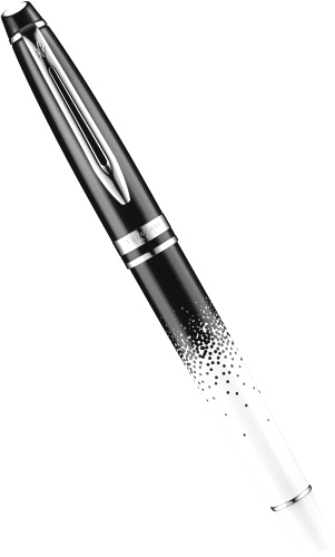 ��������� � �������� ����� Waterman Expert 2015 Ombres et Lumieres Special Edition, Black and White CT (���� F)