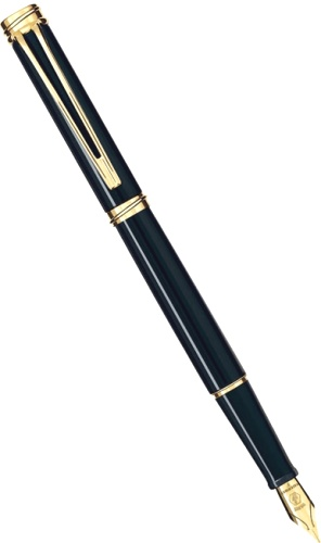 ��������� � �������� ����� Waterman Harmonie, Black GT (���� F)