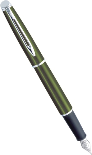 ��������� � �������� ����� Waterman Hemisphere, Metallic Green CT (���� F)