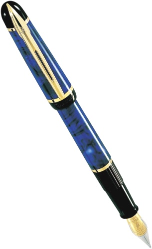 ��������� � �������� ����� Waterman Phileas, Marbled Blue GT