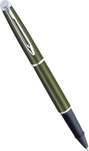 Подробнее о Ручка-роллер Waterman Hemisphere, Metallic Green CT