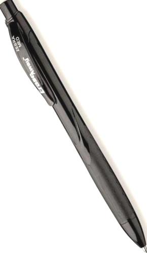 Zebra 829392 Ручка шариковая Erase Away, Black (1,0 мм)