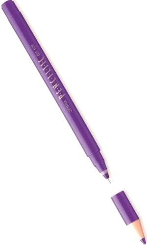 Zebra BE-108 PU Ручка-роллер Penciltik, Purple (0,5 мм)