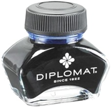 Флакон с синими чернилами Diplomat Royal Blue