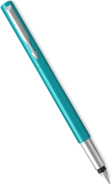 Ручка перьевая Parker Vector Standard F01 Blue Green CT (Перо F)