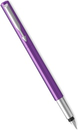 Ручка перьевая Parker Vector Standard F01 Purple CT (Перо F)