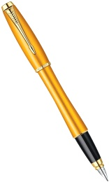Перьевая ручка Parker Urban F205 Premium Historical Colors, Mandarin Yellow GT (Перо F)