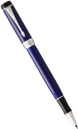 Ручка-роллер Parker Duofold Classic International T74, Blue and Black CT