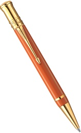 Шариковая ручка Parker Duofold Historical Colors International K74, Big Red GT