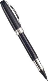 Ручка эко-роллер Visconti Michelangelo, Blue-Black PT