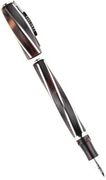 Ручка перьевая Visconti Divina Elegance Over Size, Brown ST (Перо M)