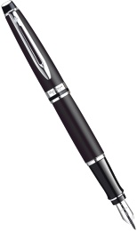 Ручка перьевая Waterman Expert 3 Essential, Matte Black CT (перо F)