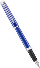 Ручка перьевая Waterman Hemisphere 2018, Bright Blue CT (Перо F)