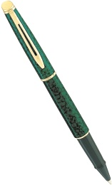 Ручка-роллер Waterman Hemisphere, Marbled Green GT
