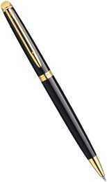 Шариковая ручка Waterman Hemisphere Essential, Mars Black GT