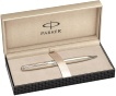 Подробнее о Шариковая ручка Parker Sonnet`10 Slim K435, Ciselle Decal Sterling Silver CT