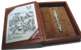 Подробнее о Перьевая ручка Visconti Limited Edition The Christian Bible, Ivory GT (Перо M)