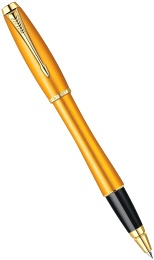 Ручка-роллер Parker Urban T205 Premium Historical Colors, Mandarin Yellow GT